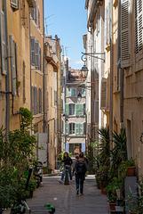 Mediterranes Flair in der Altstadt von Marseille