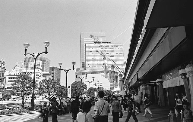 Sendai, full of tourists