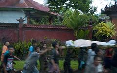 Bali - burial at Tenganan