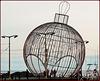 Funchal : Costruzione natalizia nel porto turistico