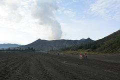 Indonesia, Java, Bromo Volcano (2329m)