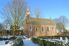 Nederland - Jisp, kerk
