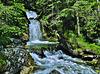 Ein Wasserfall - A waterfall - HFF