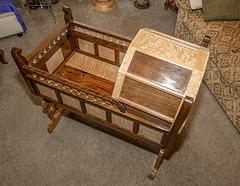 Baby Cradle handcrafted  by John Maize -III