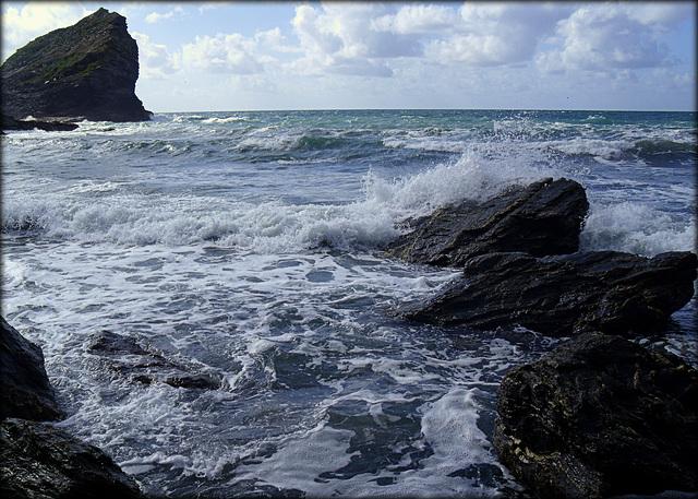 Asparagus Island from Porthcadjack