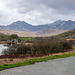 The Snowdon horseshoe in the background with Lake Mymbyr