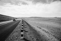 Road somewhere in-between