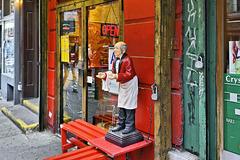 Open – Macdougal Street near Bleecker Street, New York, New York
