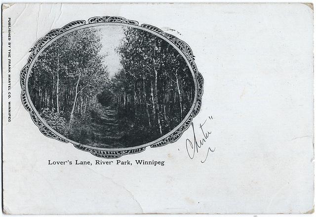 WP2200 WPG - LOVER'S LANE, RIVER PARK