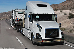 volvo vnl780 new truck stack i40 san bernardino county ca 02'15