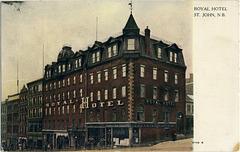 7854. Royal Hotel, St. John Hotel, N.B.