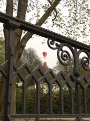 Der Leuchtturm im Baurs Park