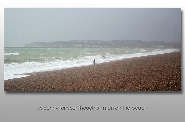 A penny for his thoughts - Seaford - 22.12.2014