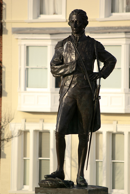 Admiral Lord Nelson - Statue at Portsmouth