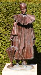 2 (143)f...austria vienna zentralfriedhof..churchyard statue