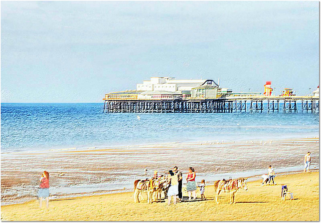 Oh I do like to be beside the seaside.......