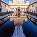 Spain - Granada - The Alhambra palace - Nasrid Palaces