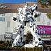 Tokyo, Unicorn Gundam Statue near DiverCity Plaza
