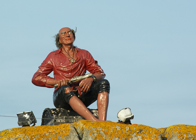 Pirate Statue at Portsmouth