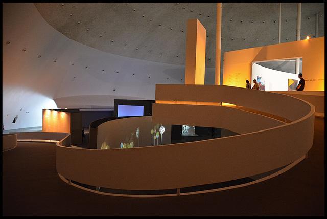 Oscar Niemeyer's National Museum, Brasilia