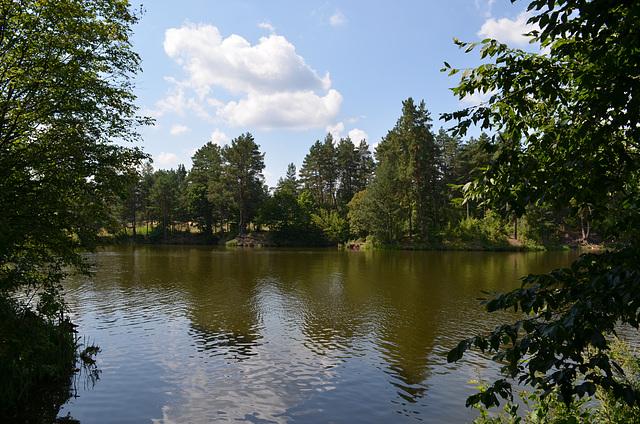 Житомирская обл., Река Бобровка / Zhytomyr region, The River Bobrovka
