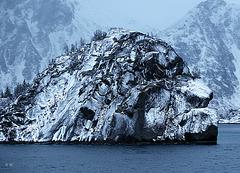 Trollejorden from Hurtigruten boat