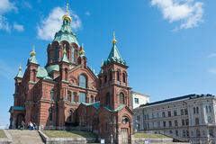 die Uspenski-Kathedrale in Helsinki, russisch-orthodoxe Kathedrale - P.i.P. (© Buelipix)