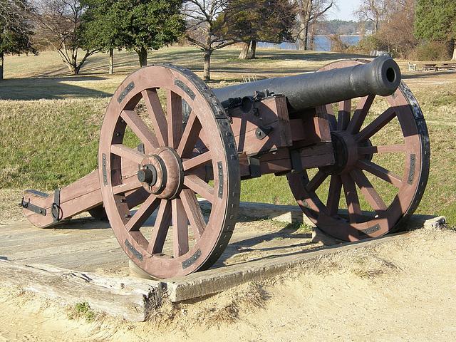 British Canon at Yorktown