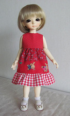 Patterned dress for Aniara