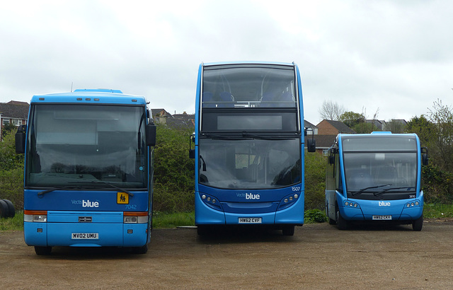 Vectis Blue in Ryde (3) - 29 April 2015