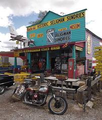 Route 66 business / Un commerce sur la route 66