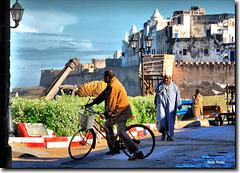 Dans les rues d'Essaouira - Maroc
