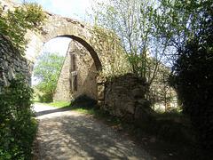 Zugang zum Schloss Münchshofen