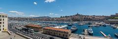 Panorama des Alten Hafens von Marseille