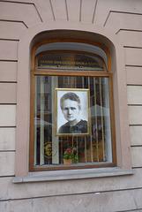 Casa museo de Marie Curie en Varsovia