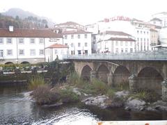 Road bridge over River Vouga.