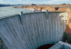Glen Canyon Dam - 1986
