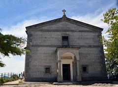 Die kleine Kirche auf dem Monte San Salvatore