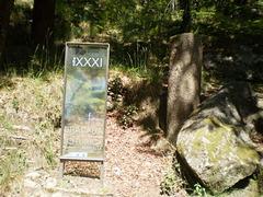 Milestone XXXI of old Roman road.