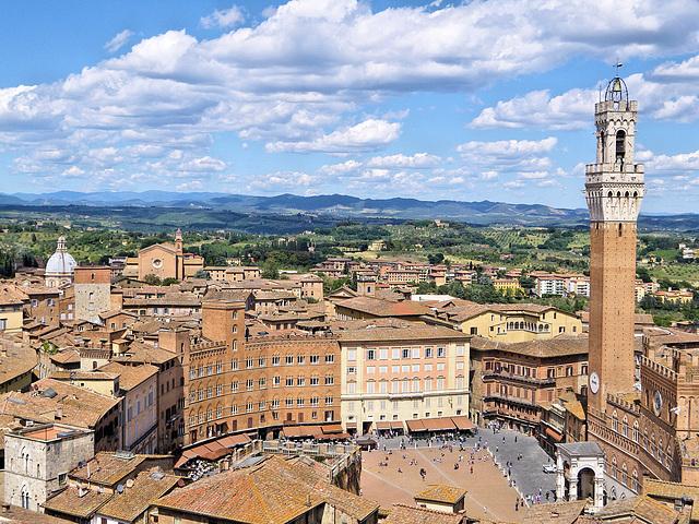 Sienne / Siena (I) 16 mai 2011.
