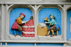 Gouda 2017 – Detail from the frieze De vier gekroonden