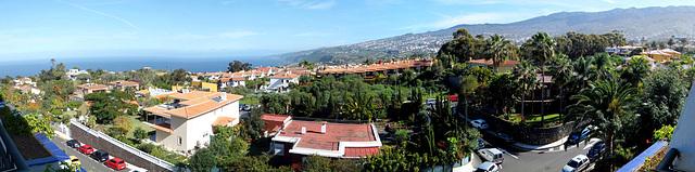 Sante Ursula. Blick vom Hotel nach Nordosten entlang der Küste. ©UdoSm