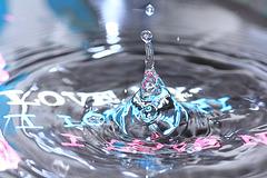 quelques gouttes d'eau !