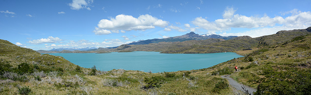 Chile, The Lake of Pehoe
