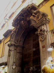 Baroque door.