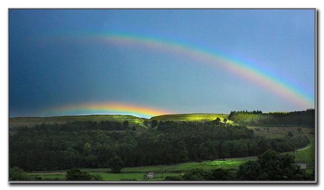The double rainbow