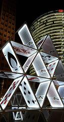 House of cards. Potsdamer Platz. 201510