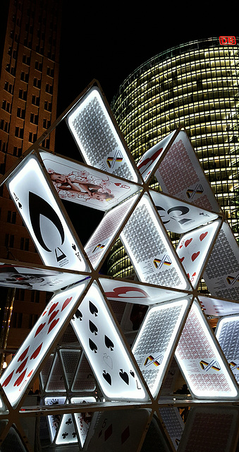 House of cards. Potsdamer Platz. 201510