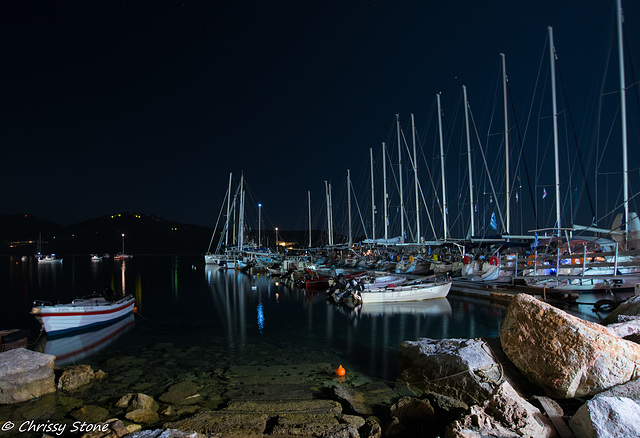 New Port at Night