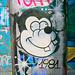 1 (10)...austria vienna..door tür graffiti..am kanal